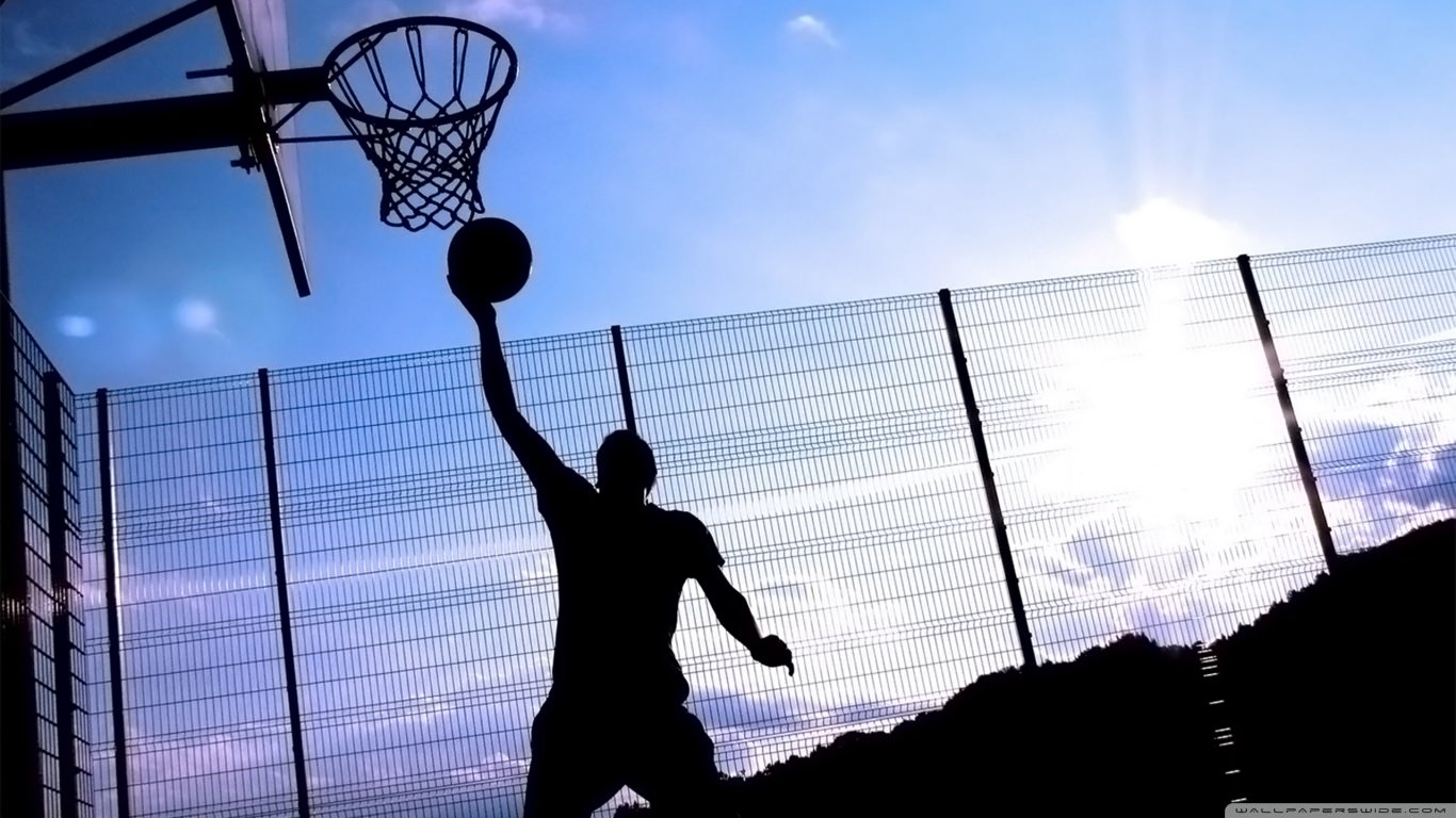 Basketball Dunk Background
