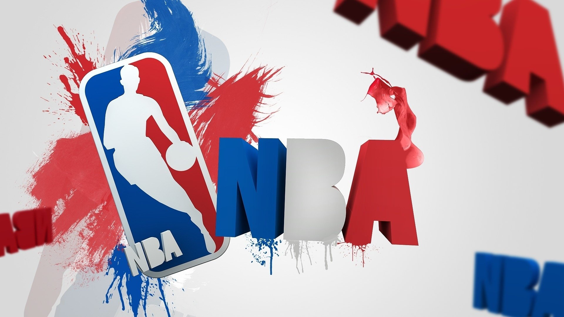 NBA Basketball Background