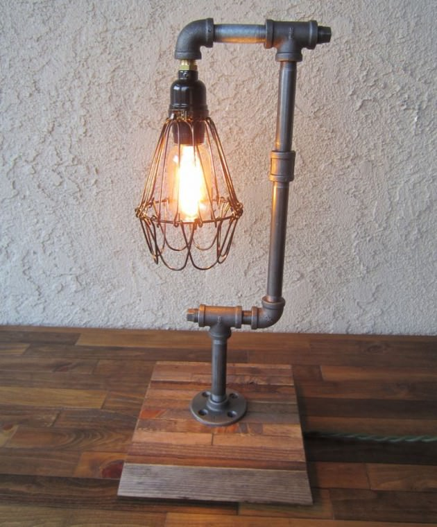 Pipe Lamp Design
