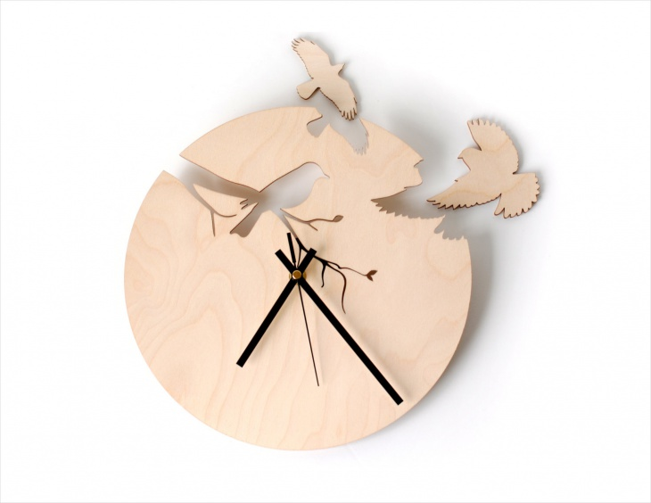AWesome Handmade Wall Clock Design
