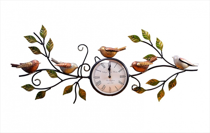 decorative handmade wall clock