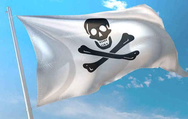 Wave Flag Mockup