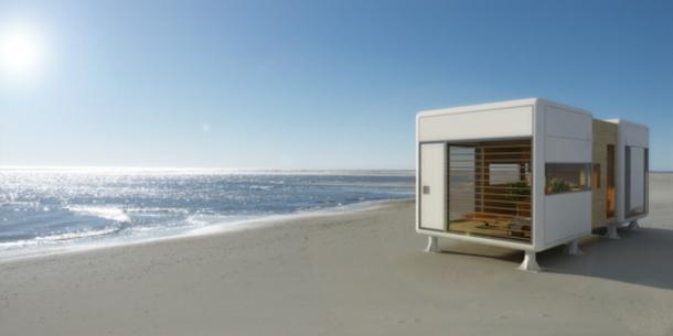 Chanfer Beach House Design