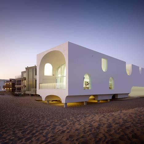 California Beach House Design