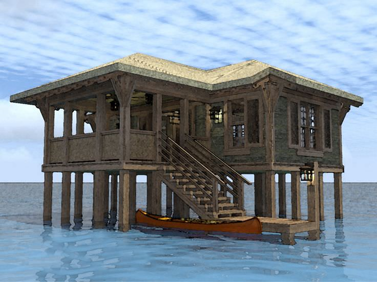 small coastal house plans on pilings - escortsea