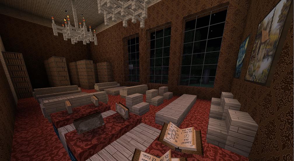 Interior Minecraft Texture