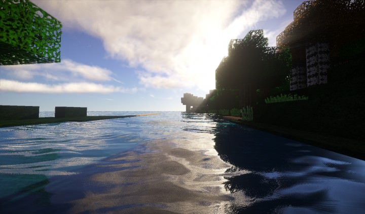 Realistic River Minecraft Texture