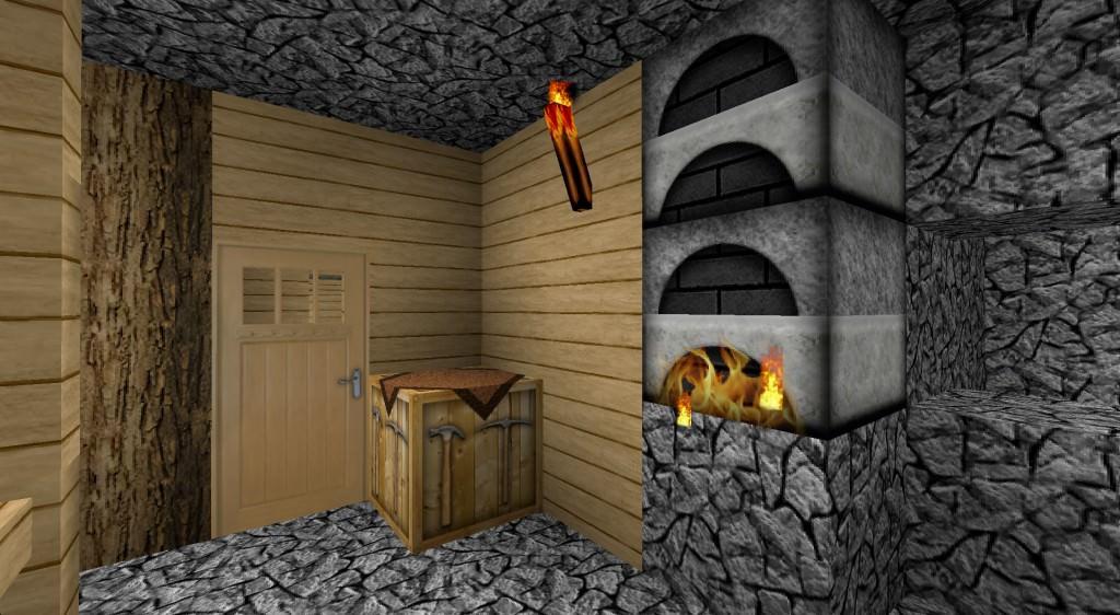 realistic interior minecraft texture