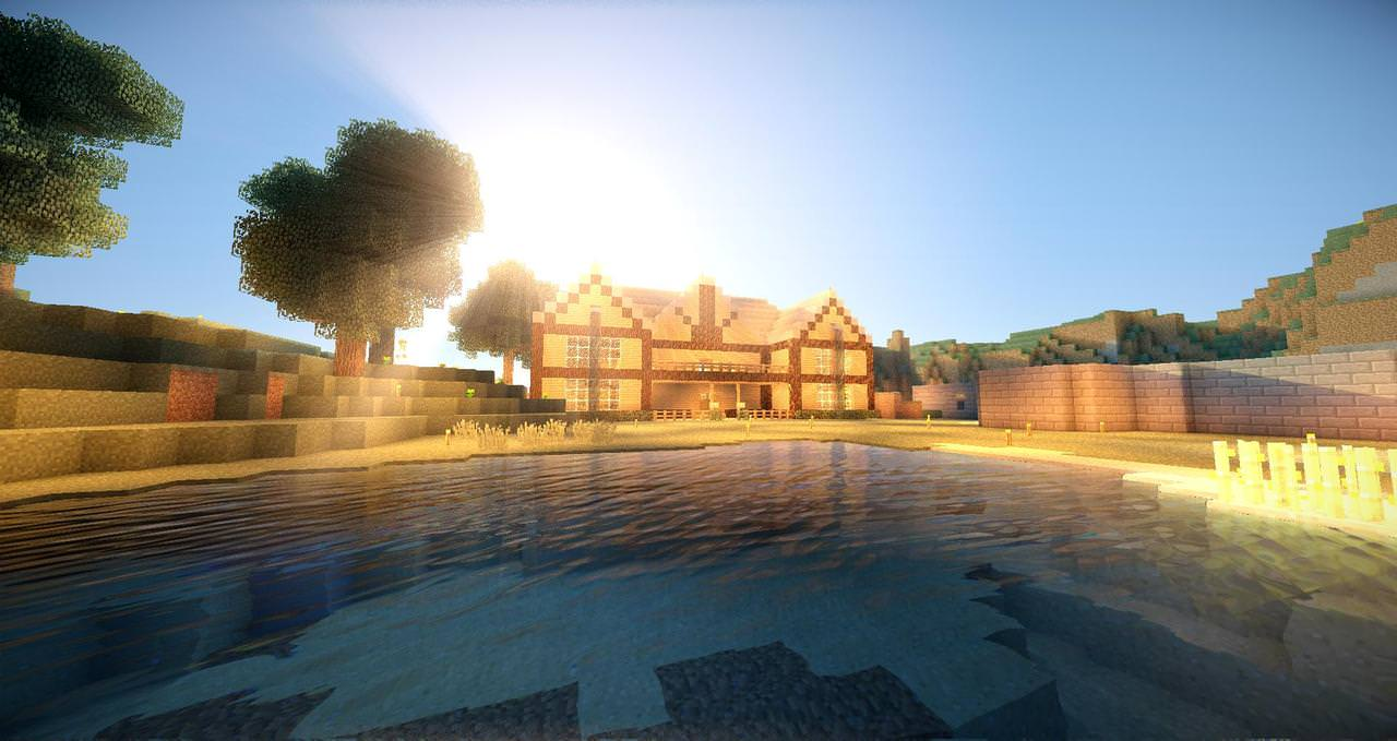 Realistic Sunshine and Water Texture