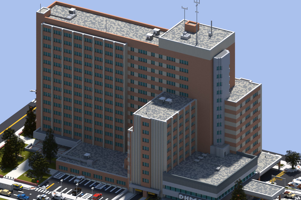 Realistic Building Minecraft Texture