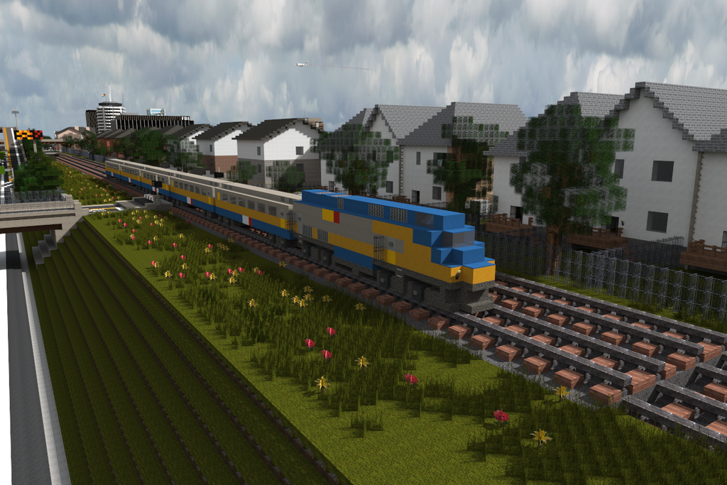 Train Minecraft Texture