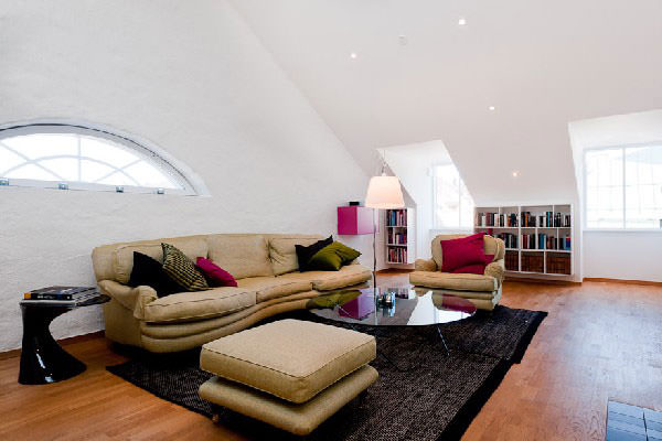 Beautiful Attic BedRoom Design