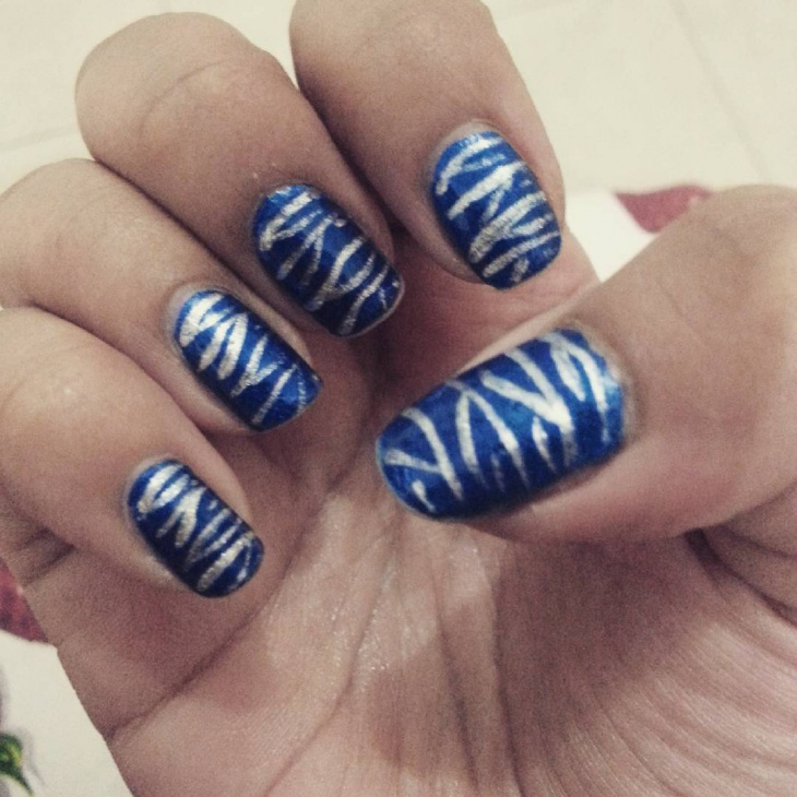 Assymentric Nail Art Ideas d