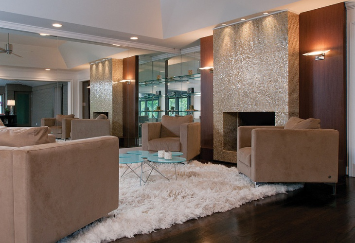 modern sparkle wall design