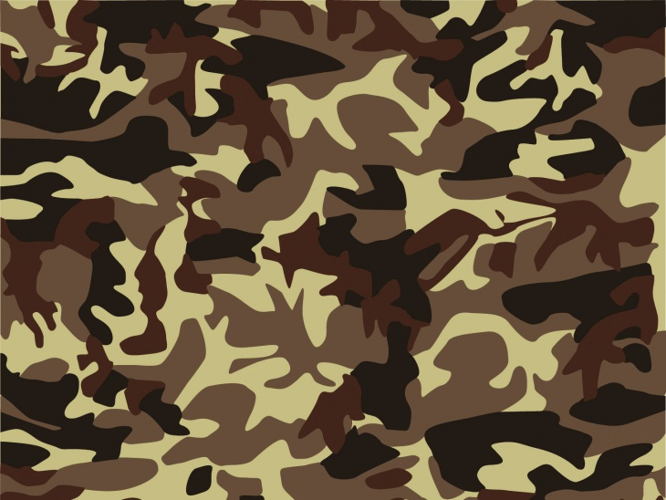 retro camouflage background