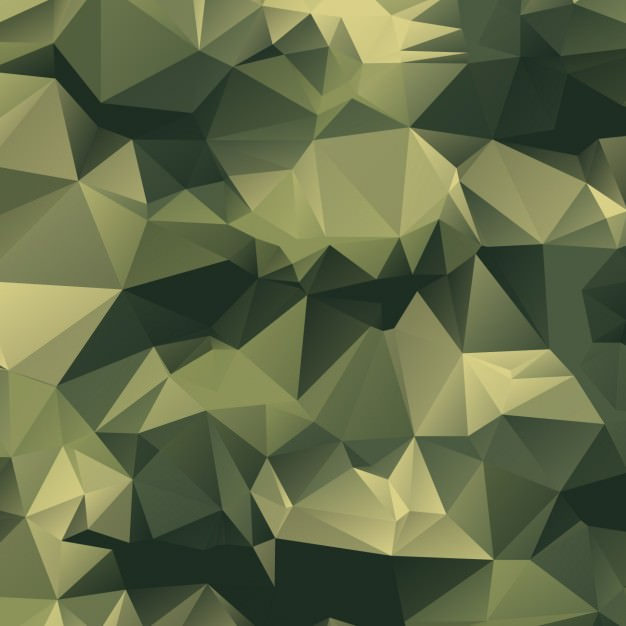 polygonal camouflage background