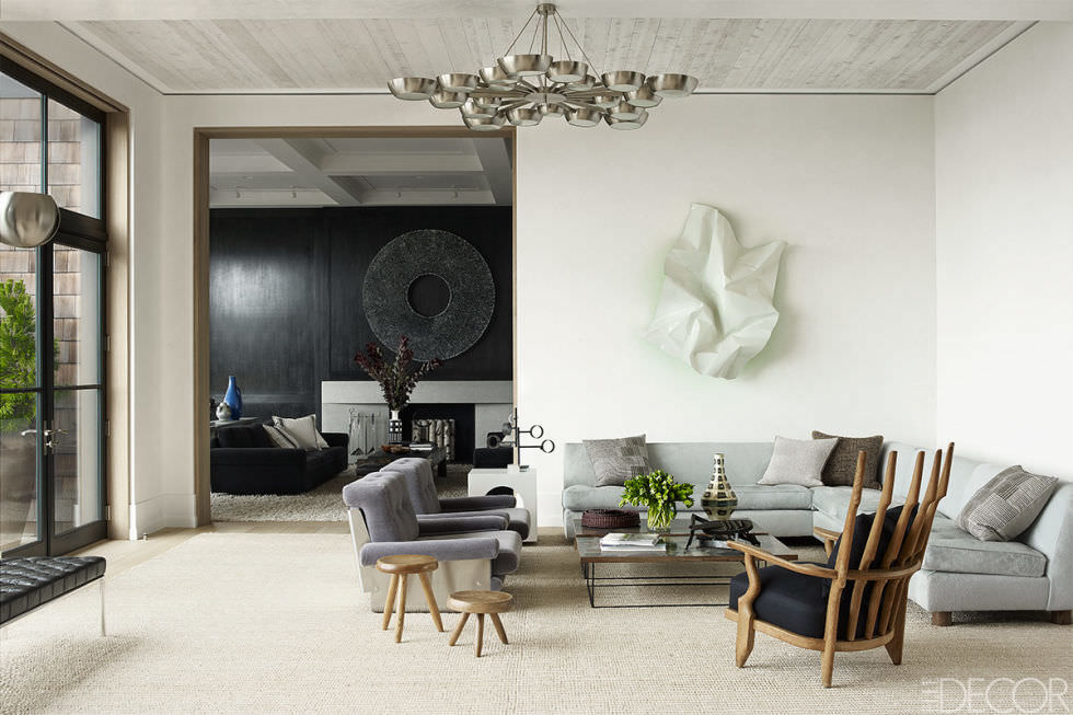 White Colorful Floor Design