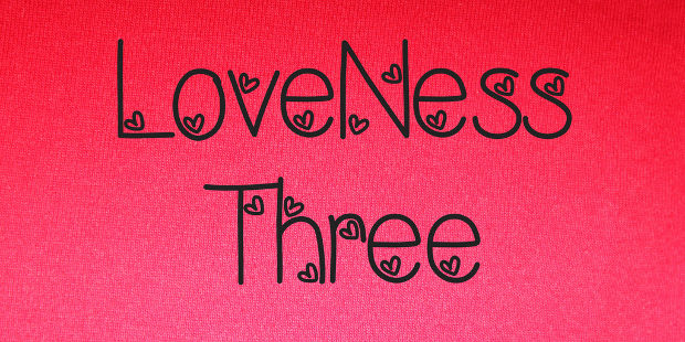 Simple Romantic Font