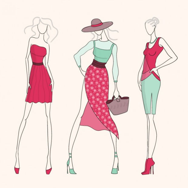 fashion girls vector1