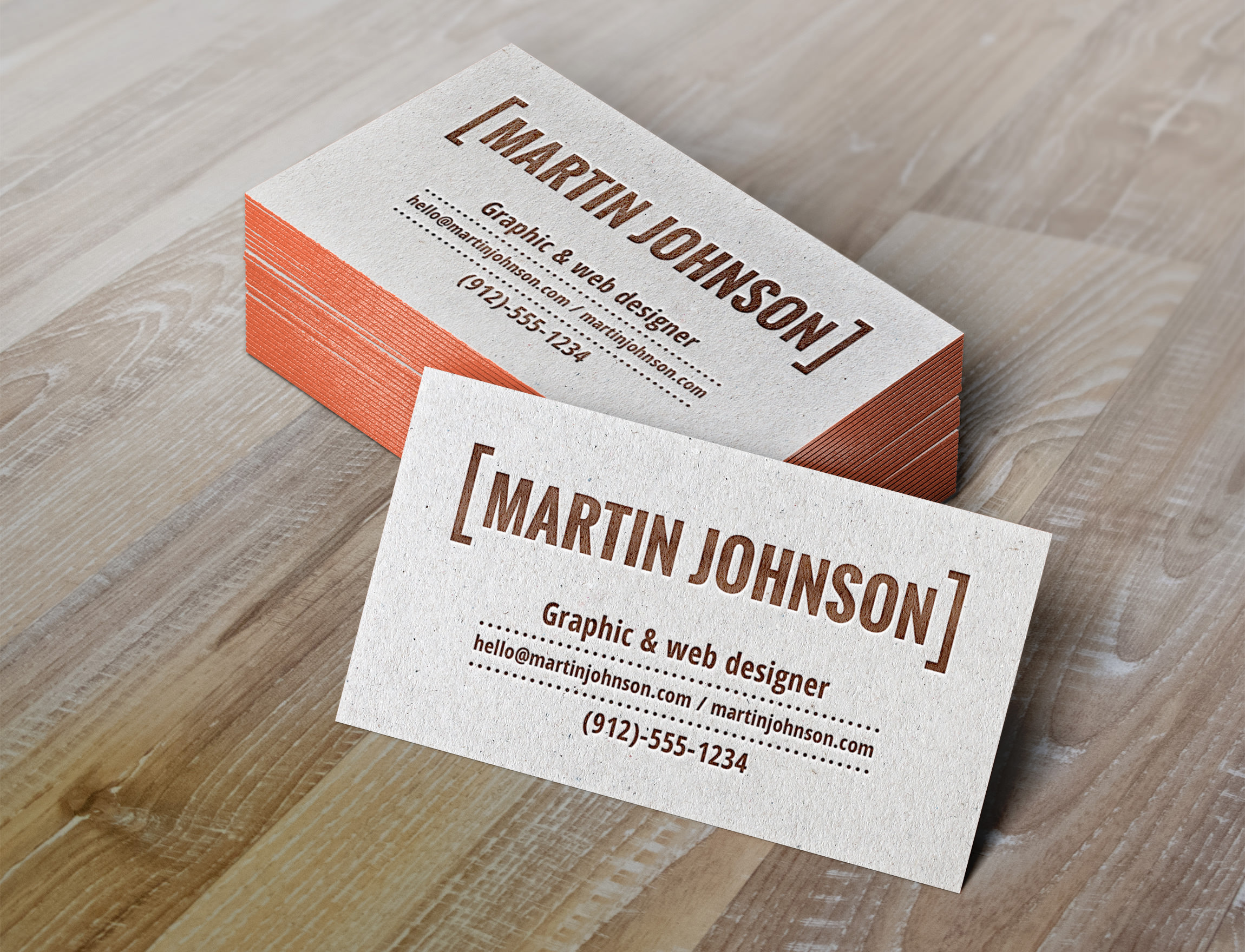 21 business card mockups psd