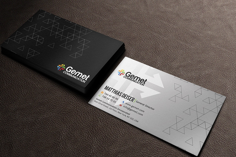 Corporate Branding Business Card Mockup