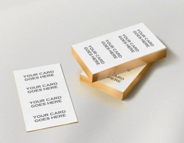 Edge Business Card Mockup