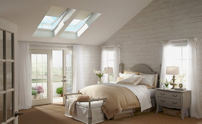 Master Skylight Bedroom Design