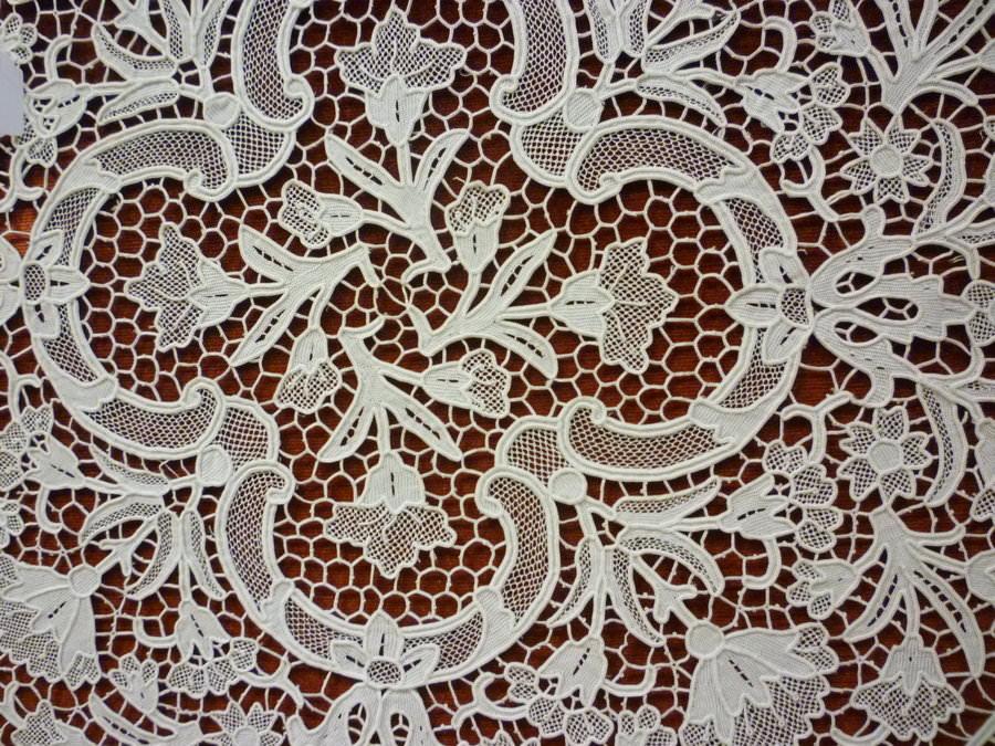 Floral Lace Texture Design