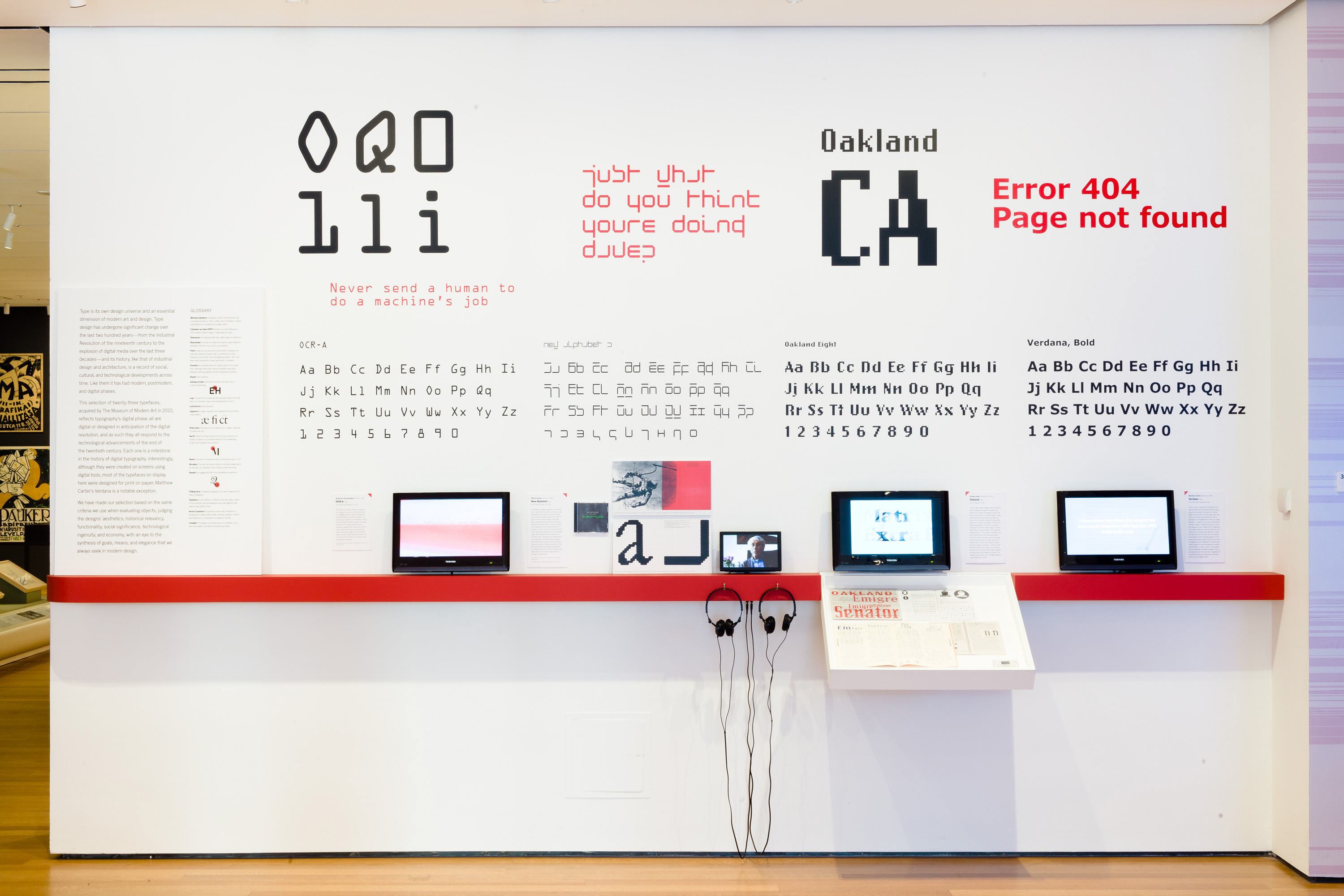 introduction typographic wall design