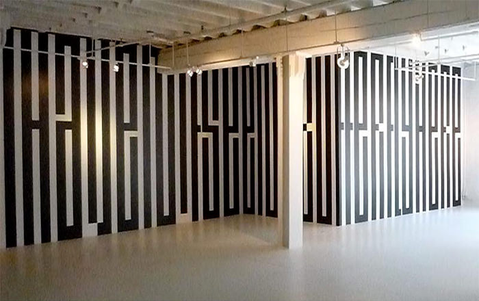 Typographic Murals Wall Design