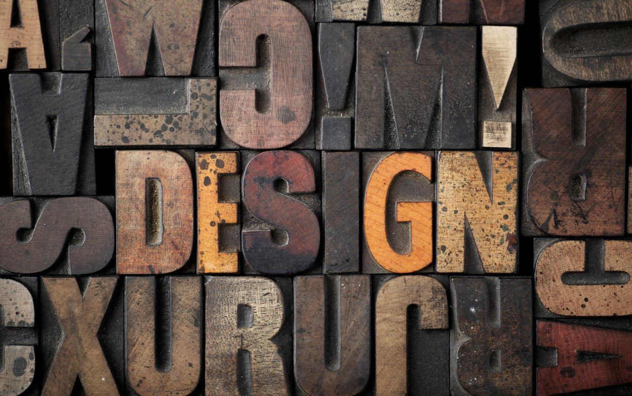 21 typographic wall designs wall designs design for Decoration murale industrielle