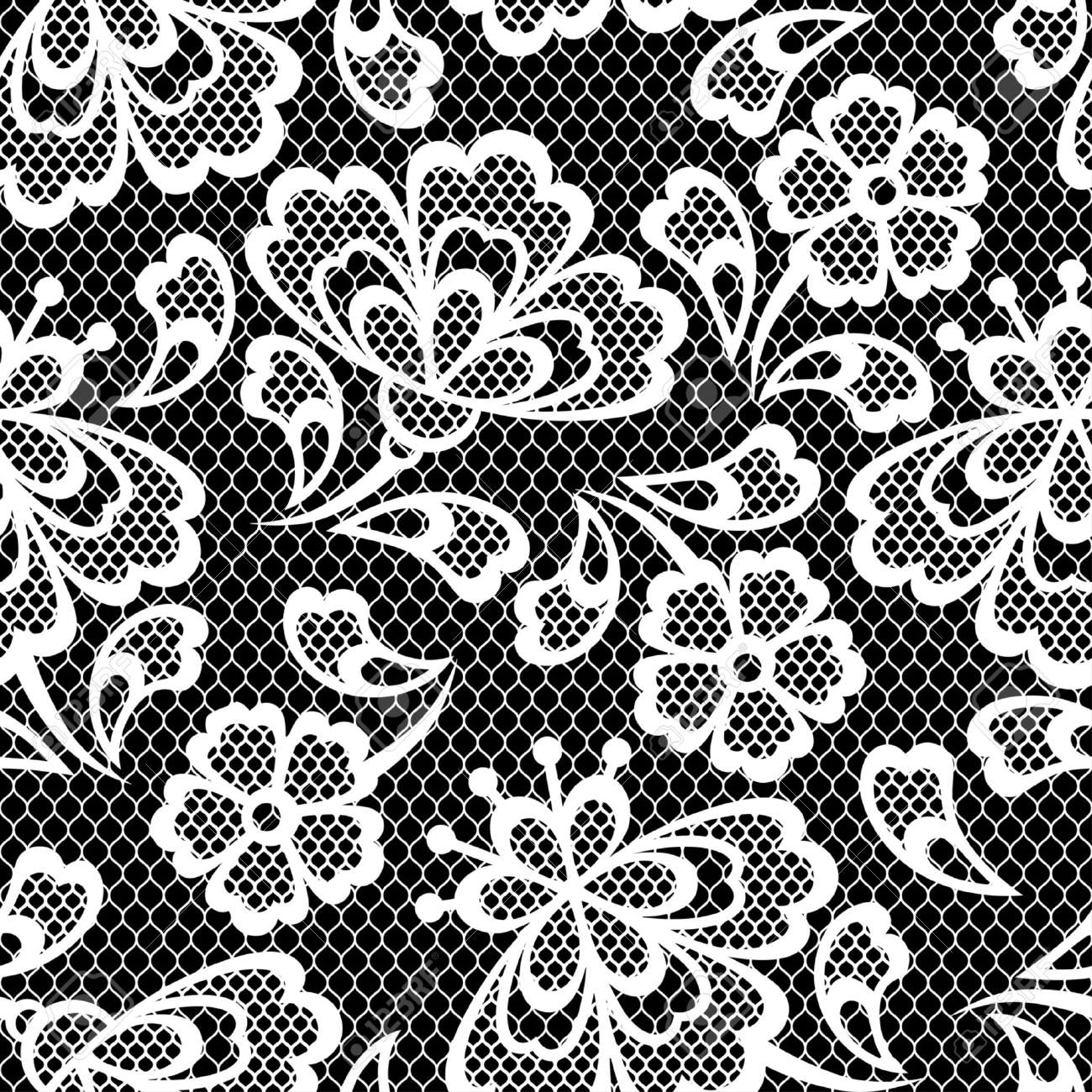 old lace seamless texture