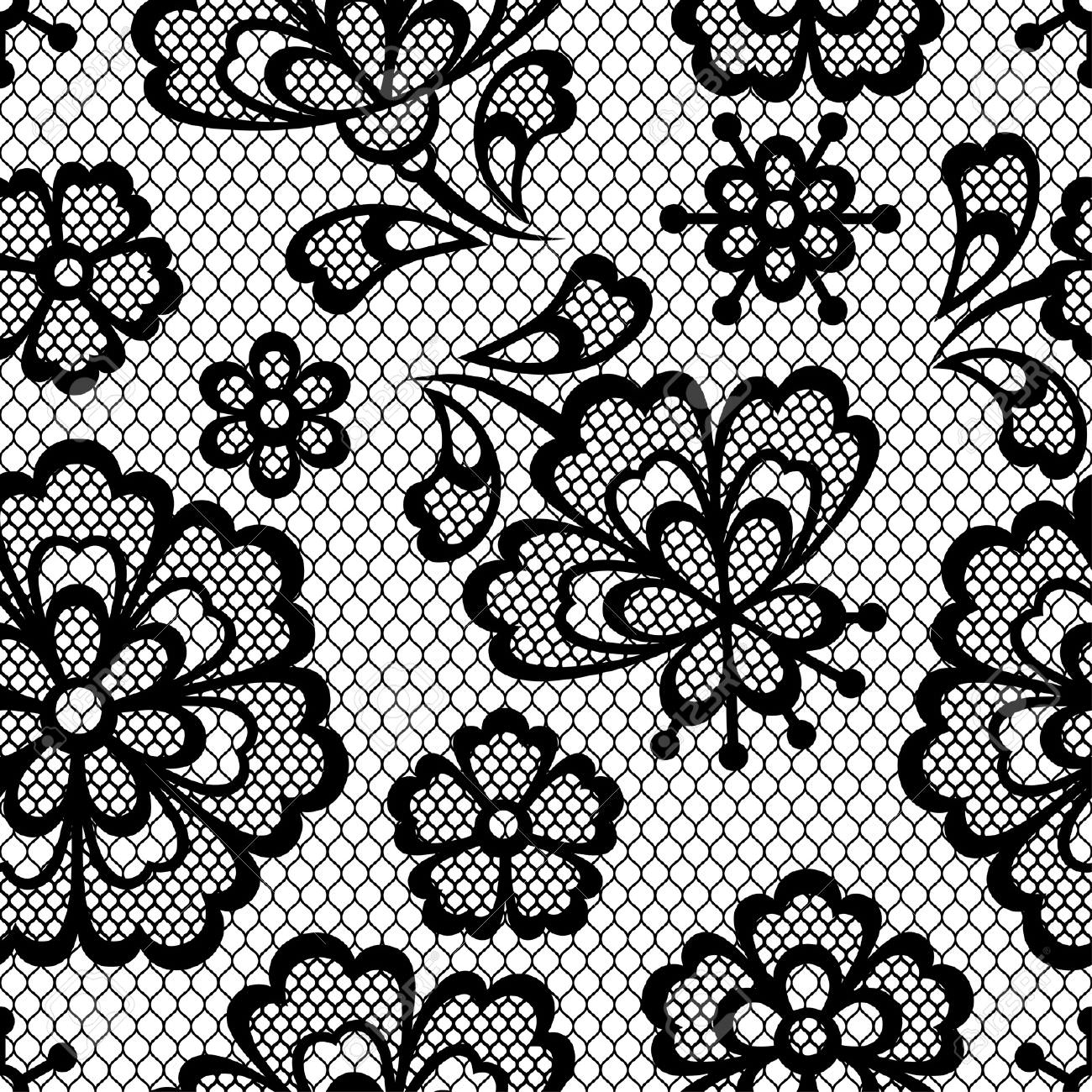 Old Lace Seamless Texture Design