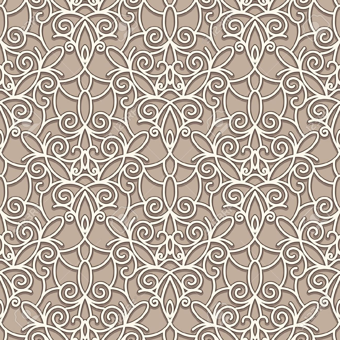 Abstract Seamles Lace Texture Design