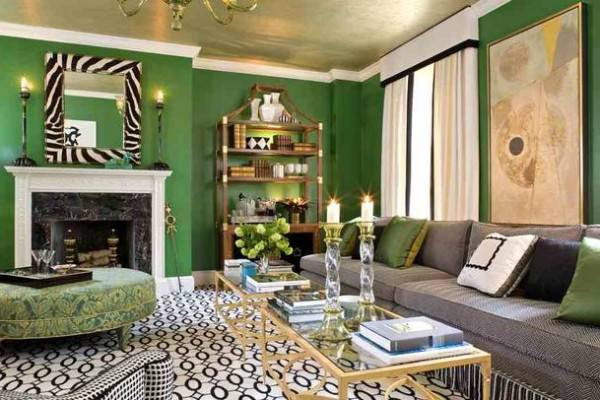 Favorite Green Room Interior Design