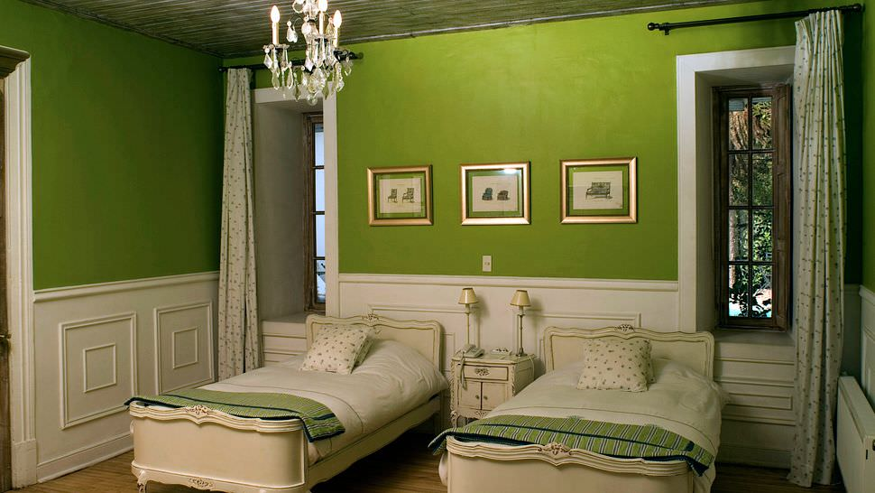 Green room interior design decorating ideas design for Sweet bedroom designs