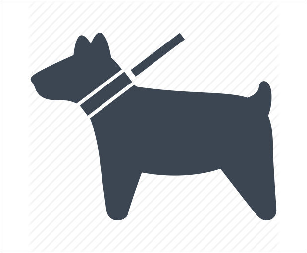 simple dog icon