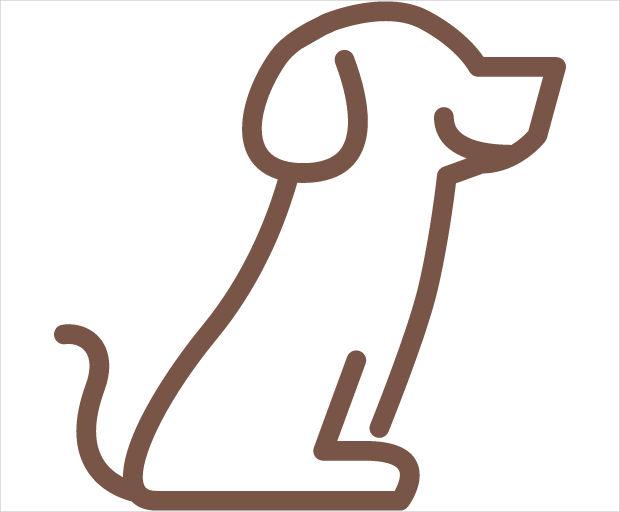 Sitting Dog Icon