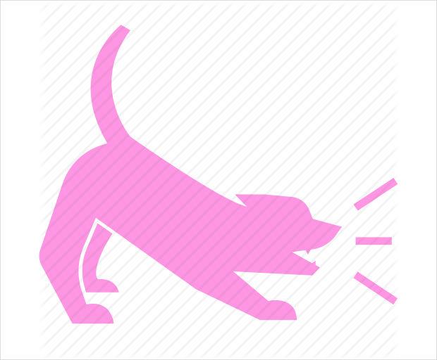 Barking Pet Dog Icon