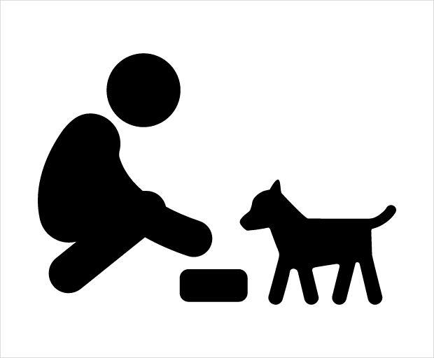 Feeding Dog Icon