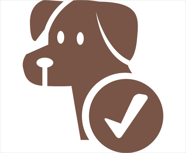 dog pet allowed icon