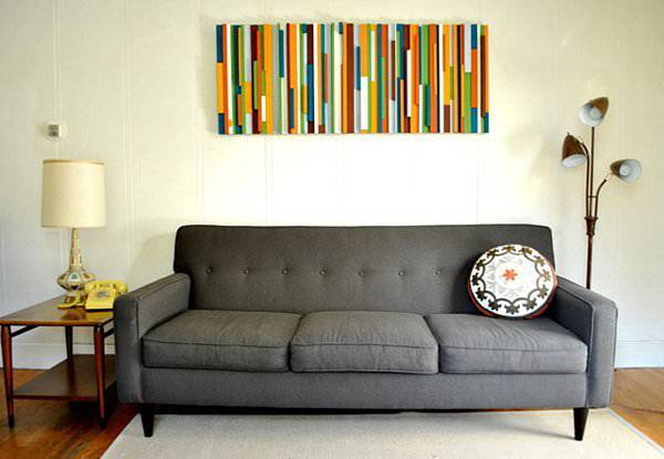 Modern Wood Wall Art Design