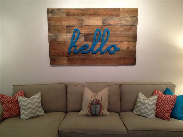 Pallet Wall Art Design