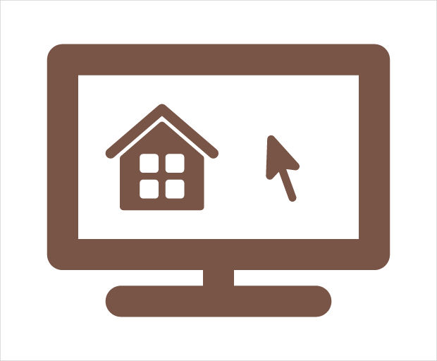 Real Estate Browse Home Icon