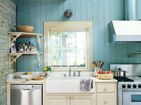 15 cottage kitchen designs decorating ideas design for Bungalow kitchen ideas