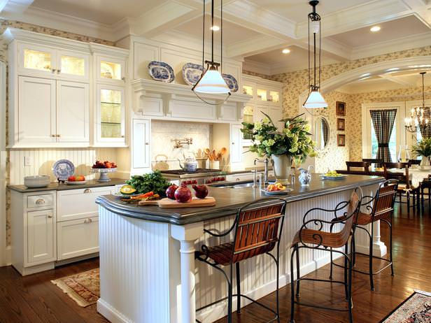 White Cottage Kitchen Design