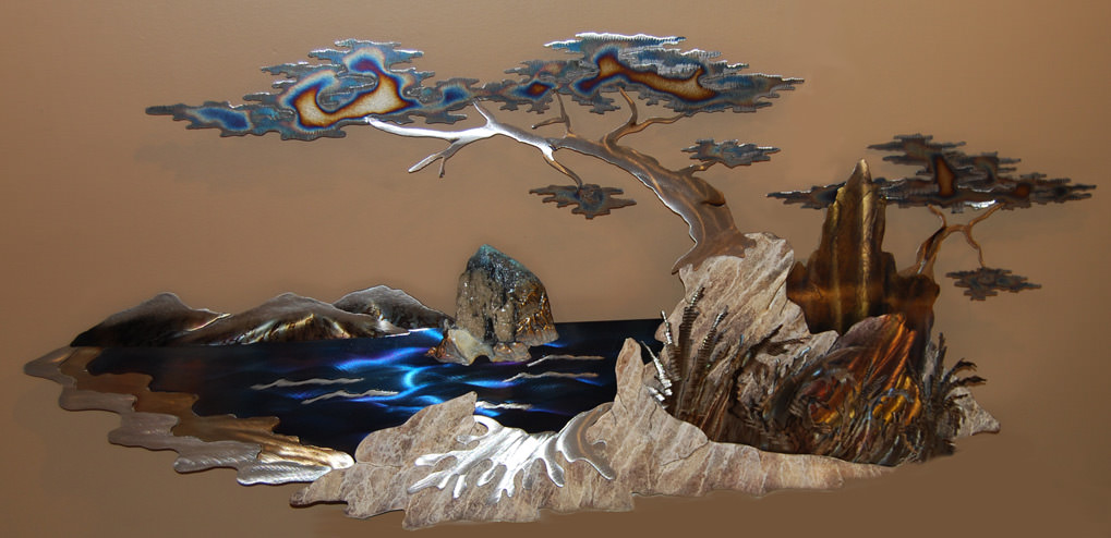 handmade metal wall sculpture design