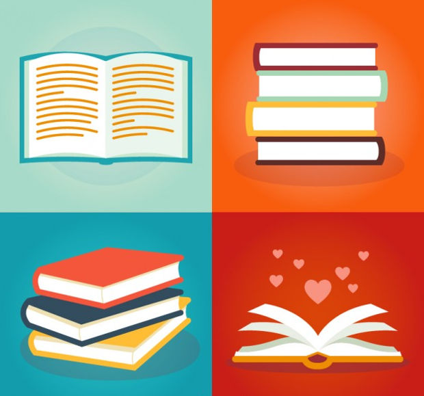 Books Vector Illustration Pack