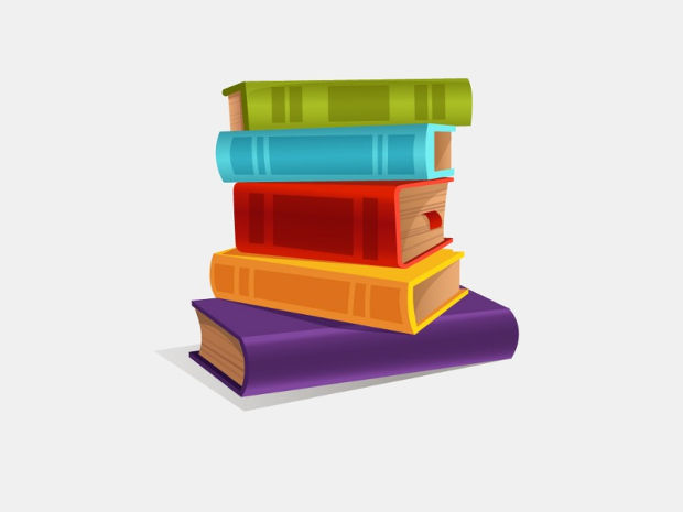 Colorful Book Vector Illustration