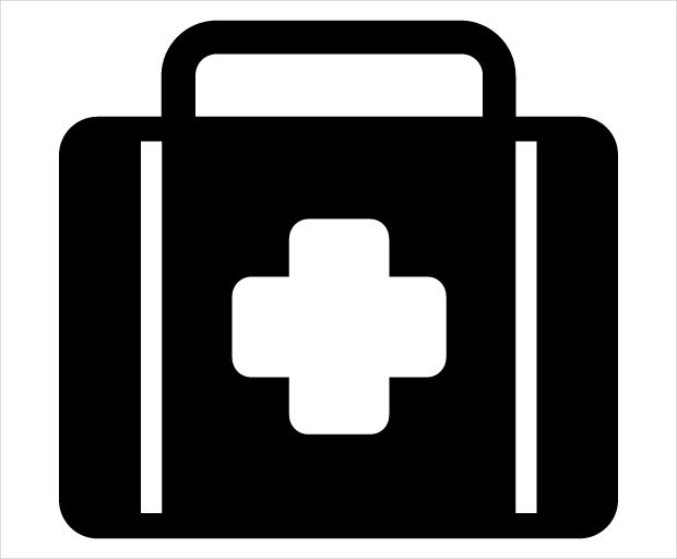 First Aid Kit Safety Icon
